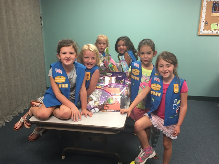 Kids Caring for Kids – Girl Scouts and Dorothy Day House