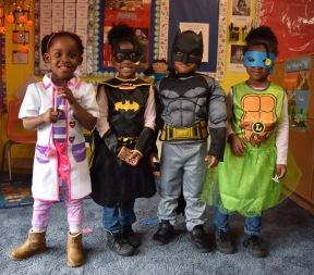 Doc McStuffins, Batgirl, Batman and Leonardo